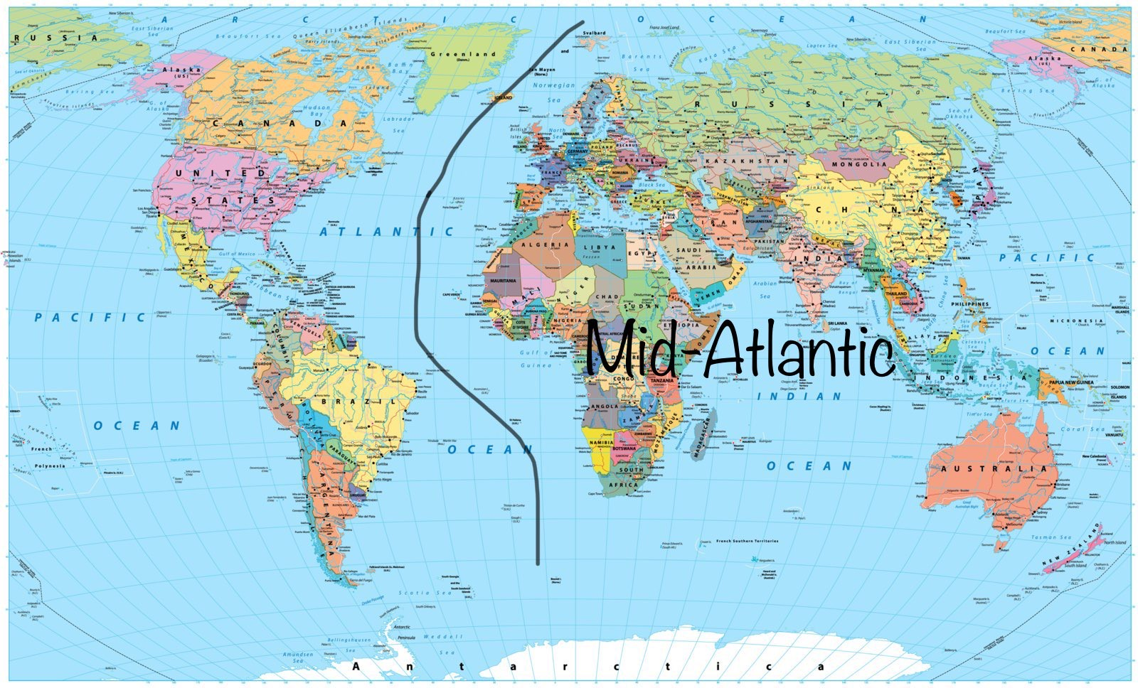 What is The Mid-Atlantic Accent?